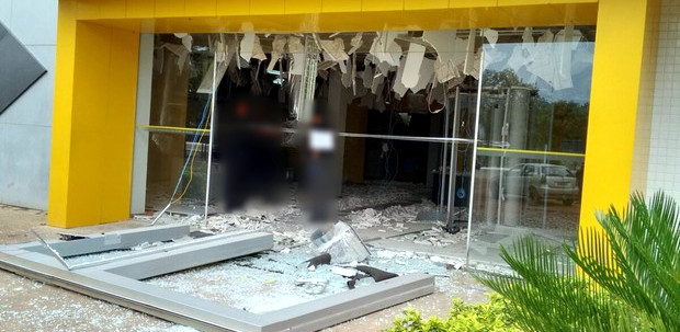 explosao banco
